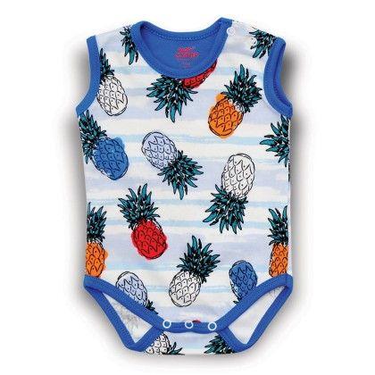 Pineapple Sleeveless Bodysuit - Baby Corner