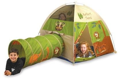 Jungle Safaritent And Tunnel Combo - Pacific Play Tents