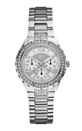 Guess Silver Tone Viva Watch - Guess Watches