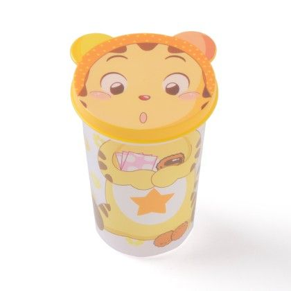 Unbreakable Glass With Lid- Little Tiger - It's All About Me
