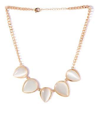 Voylla Magnificent Gold Tone Necklace