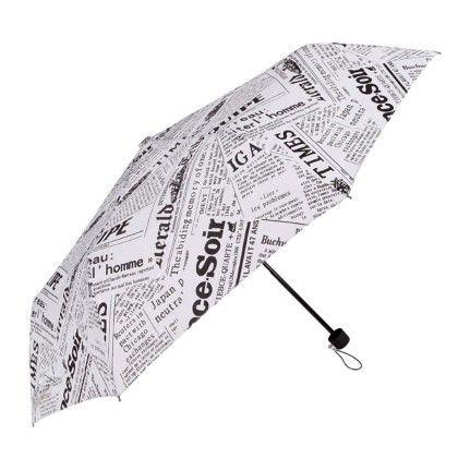 Umbrella (newspaper) White - Total Gift Solutions