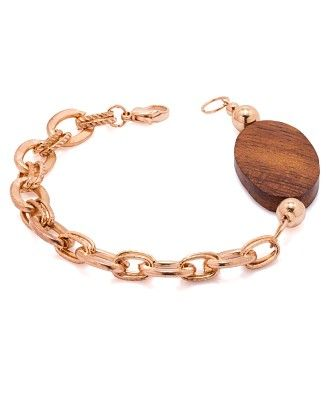 Voylla Modern And Trendy Bracelet With Wooden Touch