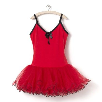 Red And Black Ballet Dress - Party Princess
