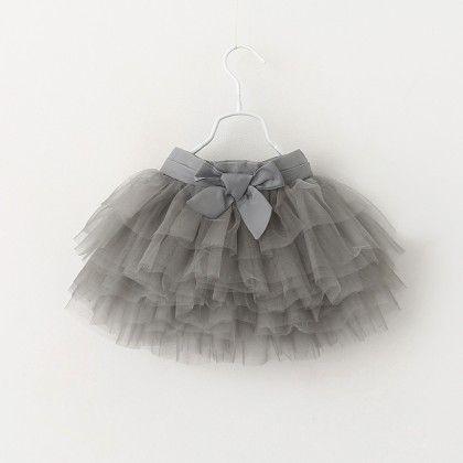 Grey Tutu Skirt - Mauve Collection