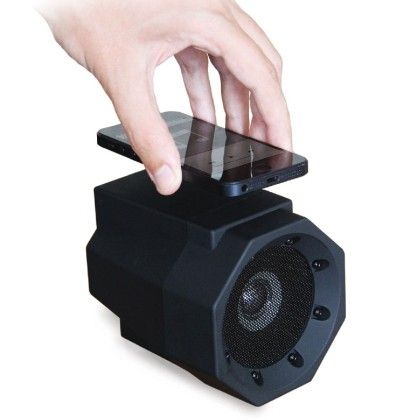 Black Touch Speaker - Boombox - 1 Unit - Total Gift Solutions