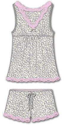 Sweet Sleep Short Pajama Set - Multi - Rene Rofe