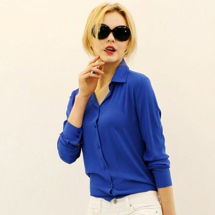 Women's Blue Top - STUPA FASHION