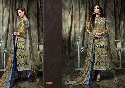 Pakistani Print Dress Material - Fashion Fiesta