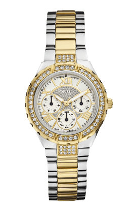 Guess Silver Tone-gold Tone Viva Watch - Guess Watches