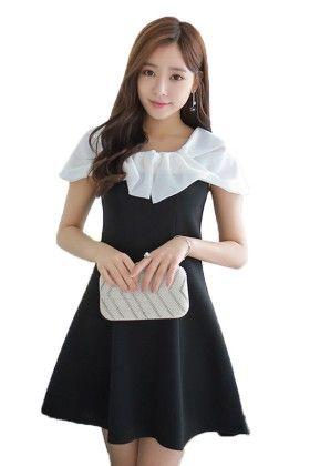 Stunning Black Dress - Mauve Collection