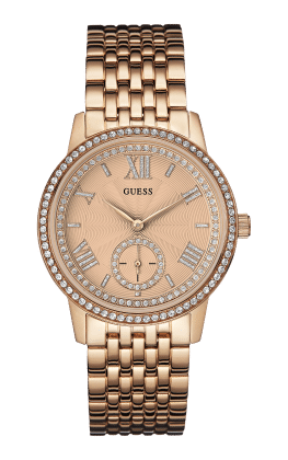 Guess Rose Gold Tone Gramercy Watch - Guess Watches