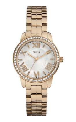 Guess Rose Gold Tone Mini Allure Watch - Guess Watches