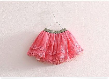 Pink Lace And Tutu Skirt - Mauve Collection