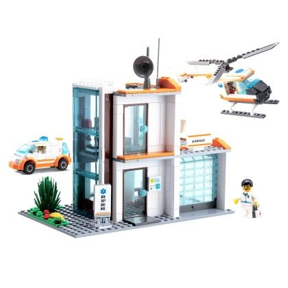 Emergency Rescue Department 450-ct. Building Set - GLOPO