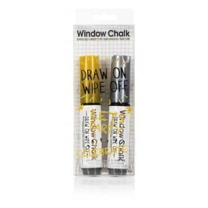Window Marker Duo Silver & Gold - NPW