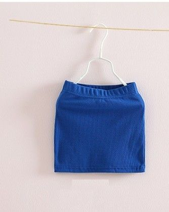 Blue Cute Pencil Skirt - Mauve Collection