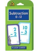 Subtraction 0-12 - The School Zone
