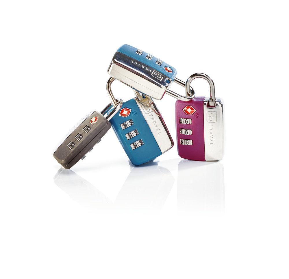 Travel Sentry Locks Assorted 1 Unit - Go Travel