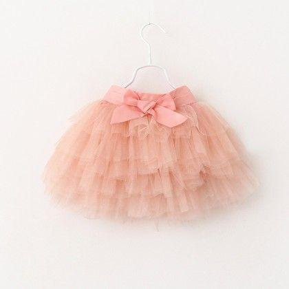 Pink-tutu Skirt - Mauve Collection