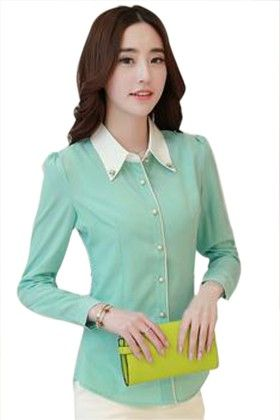 Stylish Green Shirt - Mauve Collection