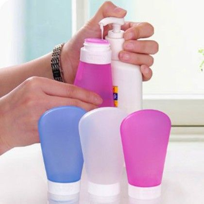 Silicon Cosmetic Travel Bottle - 1 Unit - Total Gift Solutions