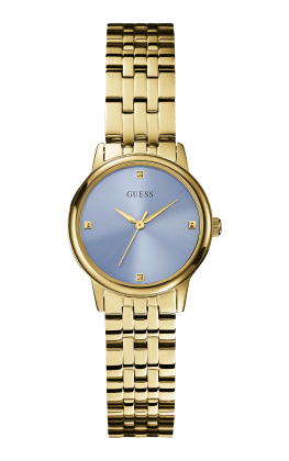 Guess Gold Tone Lady Wafer Watch - Guess Watches