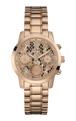 Guess Rose Gold Tone Mini Sunrise Watch - Guess Watches
