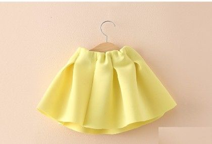 Yellow Pleated Skirt - Mauve Collection