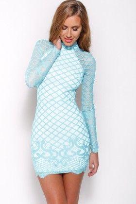 Vintage Lace Print Women  Short Dress - Enigma