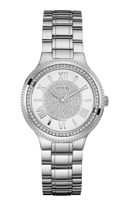 Guess Silver Tone Madison Watch - Guess Watches