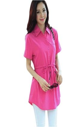 Cute & Classy Pink Women's Top - Mauve Collection