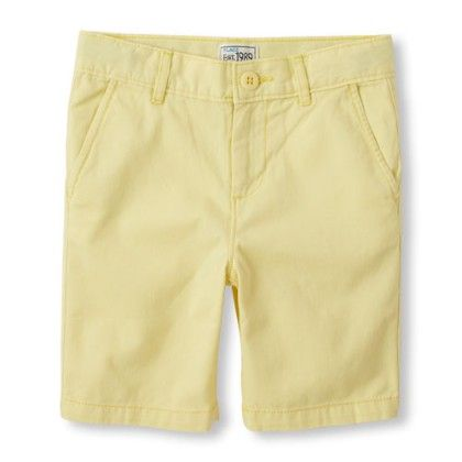 Little Boys' Chino Solid Shorts - The Children's Place