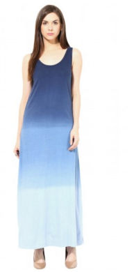 Ombre Maxi Dress - SBUYS