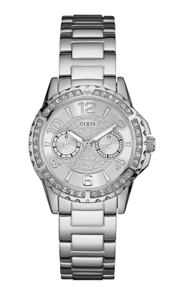 Guess Silver Tone Sassy Watch - Guess Watches