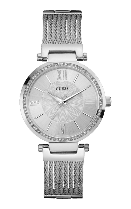 Guess Silver Tone Soho Watch - Guess Watches
