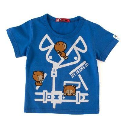Ny Jeans Royal Round Neck T-shirt - NODDY