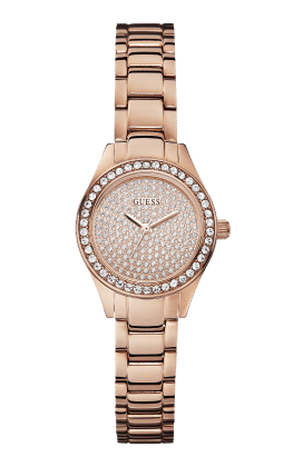 Guess Rose Gold Tone Mini Pixie Watch - Guess Watches