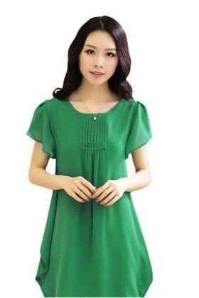 Green Short Dress - Mauve Collection