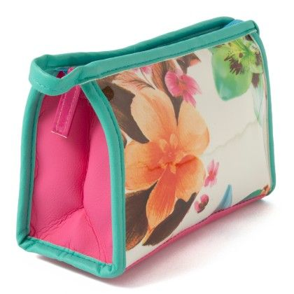 Multi Color Flower Printed Pouch - Veribest