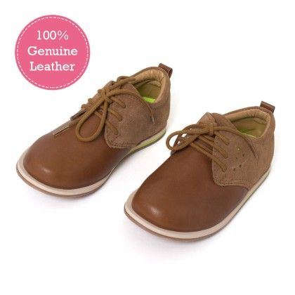 Tan Casual Leather Shoes - Tuskey Shoes