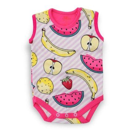 Fruit Sleeveless Bodysuit - Baby Corner