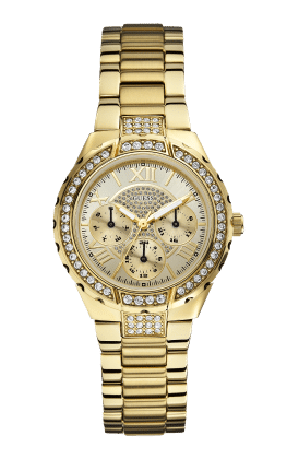 Guess Gold Tone Viva Watch - Guess Watches
