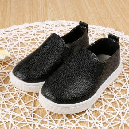 Simple Sneakers- Black - Ritzy Step