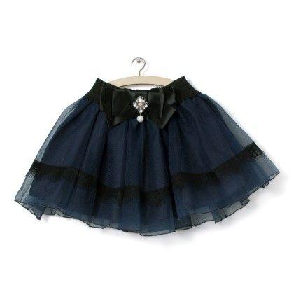 Navy Skirt - Party Princess