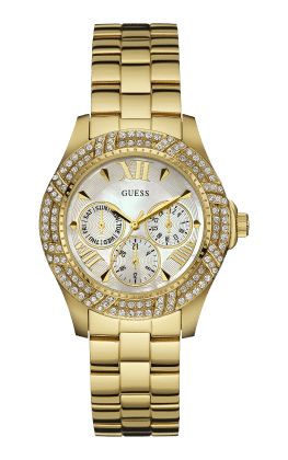 Guess Gold Tone Shimmer Watch - Guess Watches