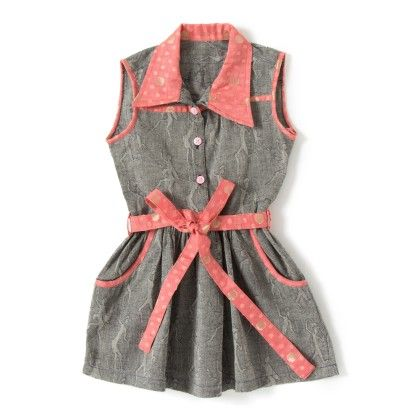 Gray Printed Shirt Dress - UTSA