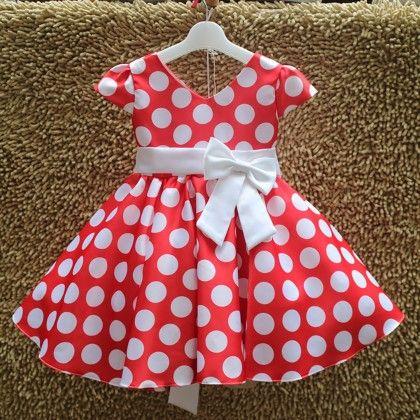 Cute Red Polka Dot Dress - Best Baby