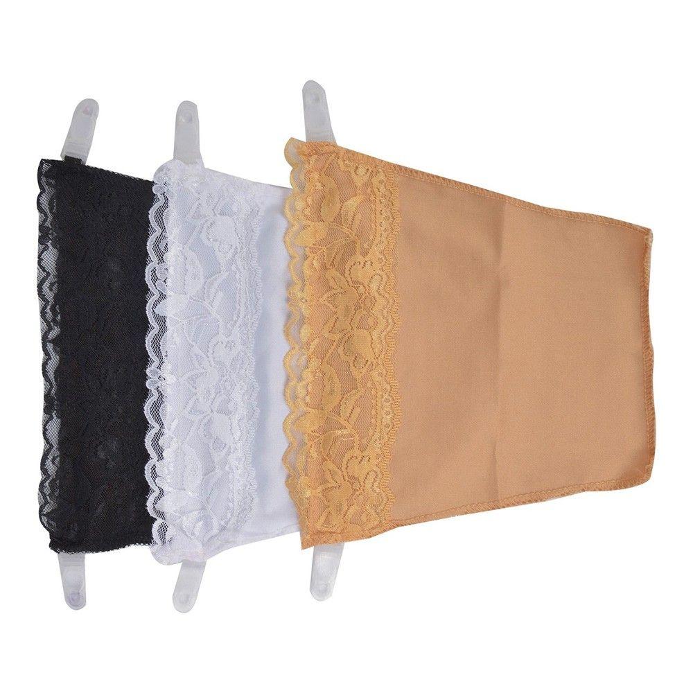 Secret Cami- Pack Of 3- Skin, Black & White Beige, Black And White - Pink Flamingo
