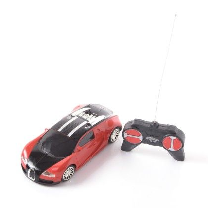 4 Way Remote Controlled Car - Red And Black - PlayMate